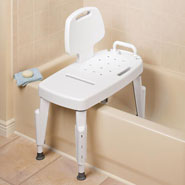 Bathroom Safety - Bathtub Transfer Bench