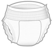 Incontinence - Disposable Protective Underwear