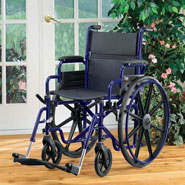 Wheelchairs & Accessories - Fully Collapsible Wheelchair