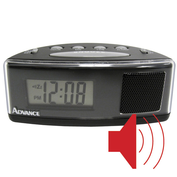 Loud LCD Alarm Clock