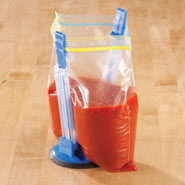 Kitchen Helpers - Easy-Open Baggy Holder
