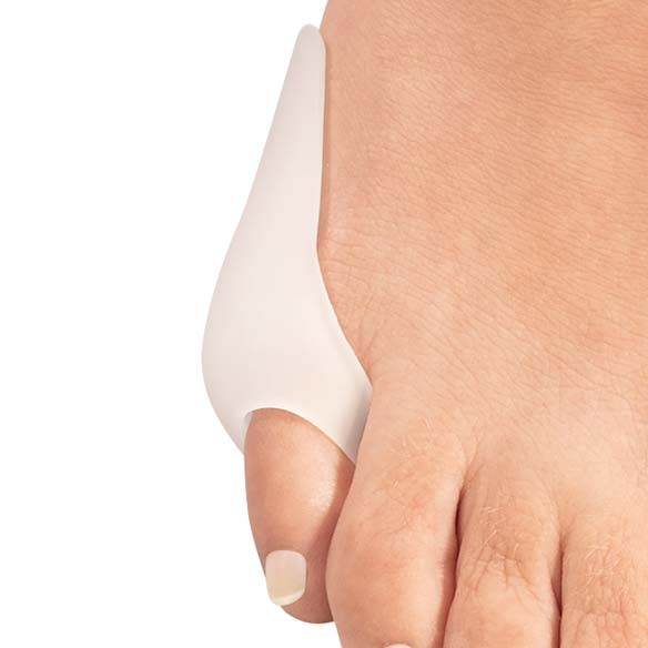Silver Steps™ Tailor's Gel Bunion Shield Set of 2