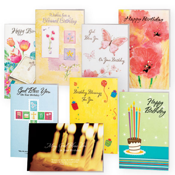 Assorted Birthday Cards - 24 Pack - View 1