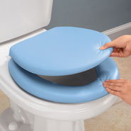 Bathroom - Padded Toilet Seat