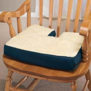 Back & Shoulder Pain - Gel Coccyx Seat Cushion