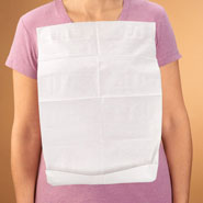 Adult Clothing Protectors - NapKleen Disposable Clothing Protectors - Set of 50