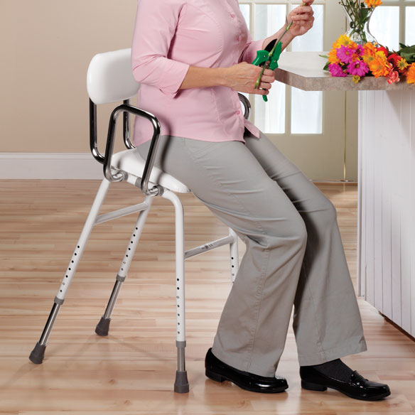 Adjule Stool Stools With Backs Kitchen Easy Comforts