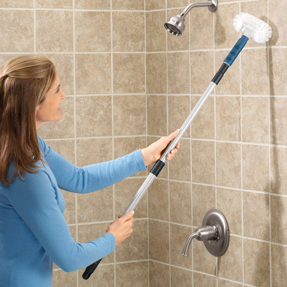 Long Handle Tub Scrubber Tub And Tile Scrubber Easy