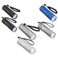 Home Safety & Security - LED Flashlight Set - 6 Piece