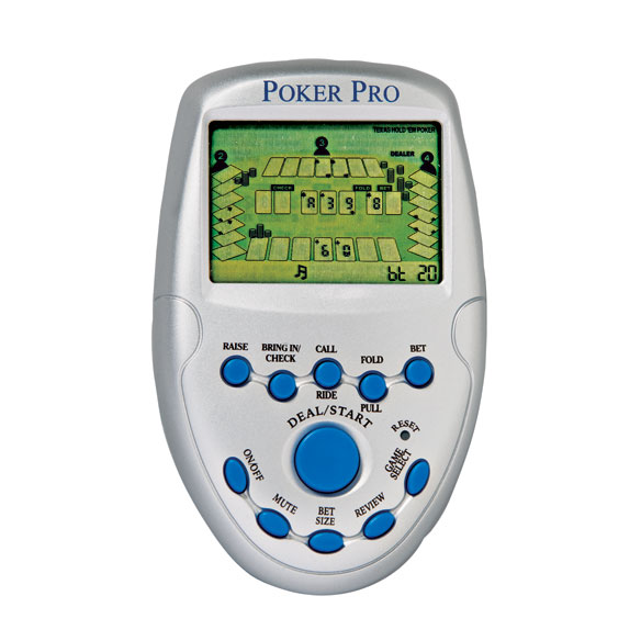 Poker Pro Electronic Game