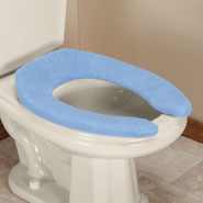 Bathroom Accessories - Elongated Toilet Seat Cover