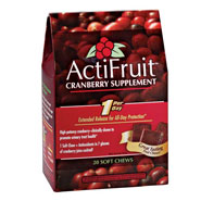 Dietary Supplements - ActiFruit™ Cranberry Supplement Chews