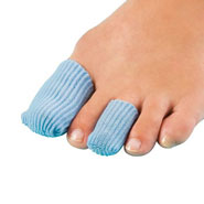 Foot Pain - Antibacterial Gel Toe Pads - Set of 4