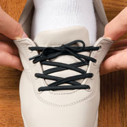 Comfort Footwear - Elastic Shoe Laces - 3 Pair