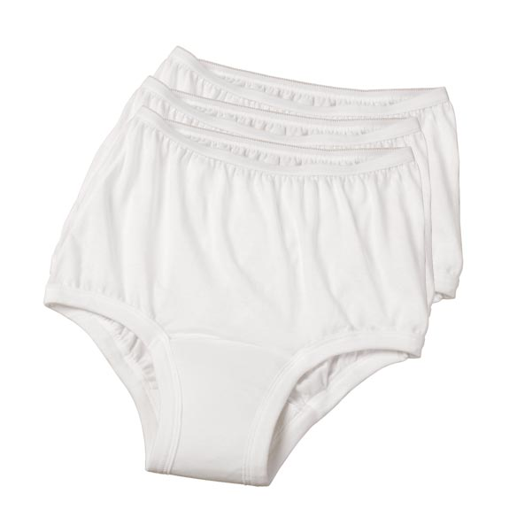 Women's Cotton Incontinence Underwear - 3 Pack