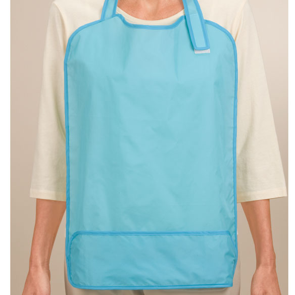 Bibs For Adults >> Adult Waterproof Bib Daily Living Aids Independent Living