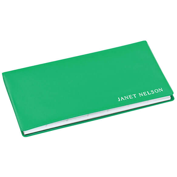 Green Grass Personalized 2 Year Pocket Planner