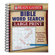 Brain Health - Large Print Bible Word Search