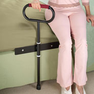 Bedroom - Cushioned Bedside Support Rail