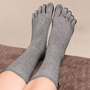 Hosiery - Compression Socks With Toes For Arthritis