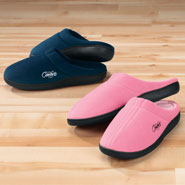 Fleece Apparel & Slippers - Easy Comforts Style™ Memory Foam Slippers
