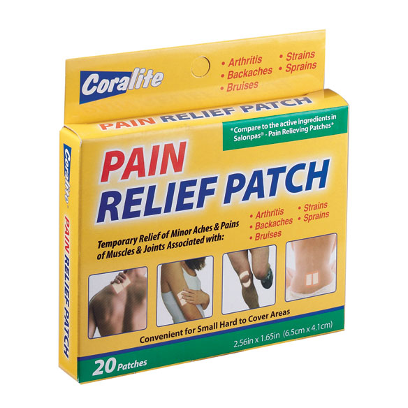 Pain Relief Patch - Pack Of 20