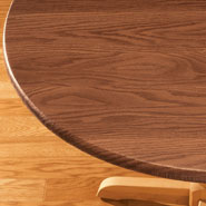 Kitchen Helpers - Wood Grain Fitted Table Cover
