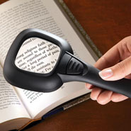 Vision Loss - Hand Held Lighted Magnifier