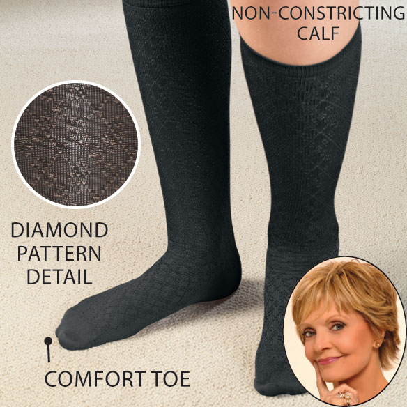 Knee High Compression Socks - View 1
