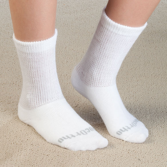 Doc Ortho™ Ultra Soft Diabetic Socks - 3 Pairs - View 1
