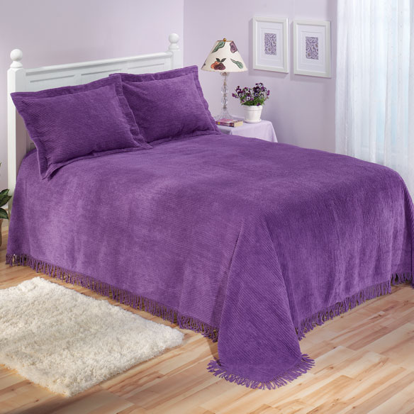 The Jane Chenille Bedding by East Wing Comforts