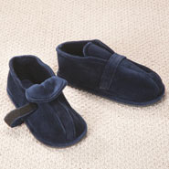 Fleece Apparel & Slippers - Hard Sole Edema Slippers