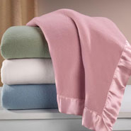 Gifts Under $50 - Satin Fleece Blanket by OakRidge™