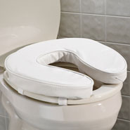 Bathroom - Padded Toilet Seat Cushion