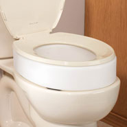 Bathroom Safety - Toilet Seat Riser