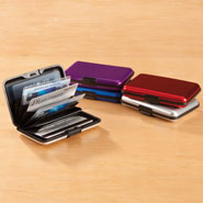 Apparel Accessories - Aluminum Credit Card Holder
