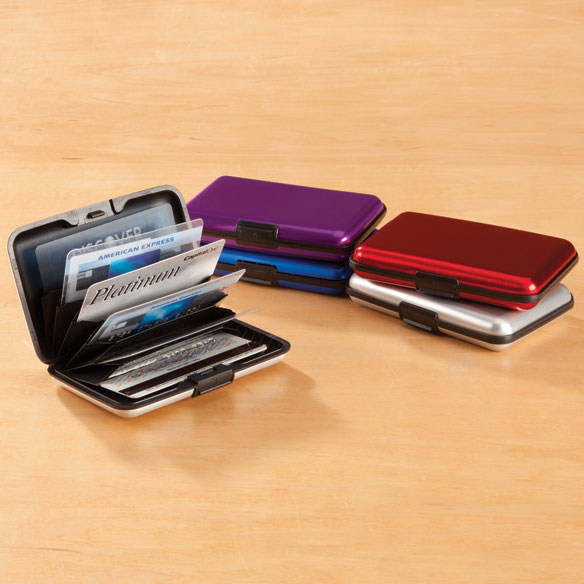 Aluminum Credit Card Holder
