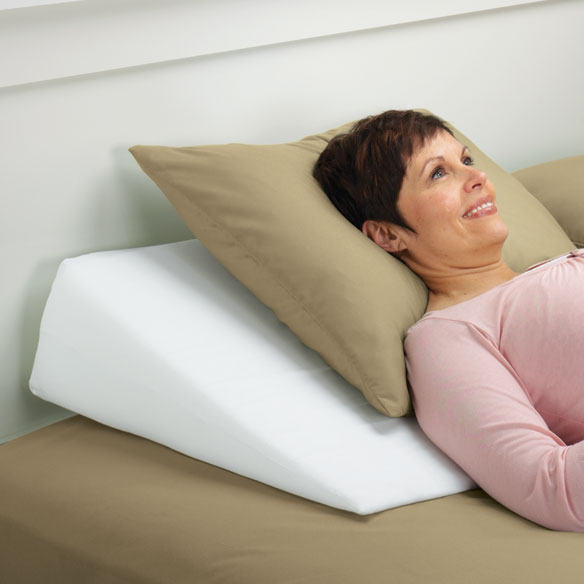 Wedge Support Pillow by LivingSURE™ - View 1