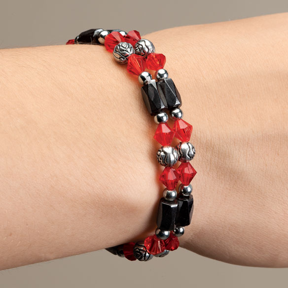 Rose Hematite Bracelets - Set Of 2 - View 1