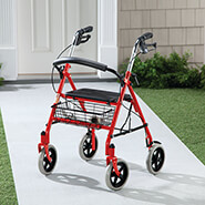 Walking Aids - Durable Steel Rollator