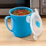 Microwave Cooking - Microwave Soup Mug