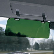 Auto & Travel - Visor Extender With Clips