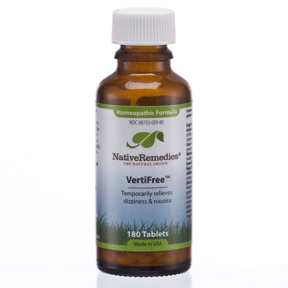 NativeRemedies® VertiFree™ - 180 Tablets