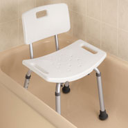 Bathroom Safety - Bath Bench With Back