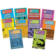 Brain Health - Brain Games - Set of 10