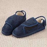 Fleece Apparel & Slippers - Adjustable Fleece Slippers