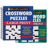 Brain Health - Large Print Crossword