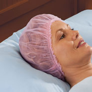 Beauty - Tricot Hairdo Saver Sleeping Caps - Set Of 2