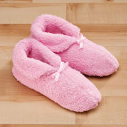 Fleece Apparel & Slippers - Chenille Slippers