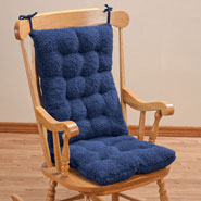 Back & Shoulder Pain - Sherpa Rocking Chair Cushion Set by OakRidge Comforts™